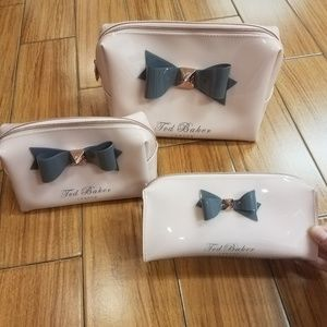 Ted Baker London cosmetic bag set